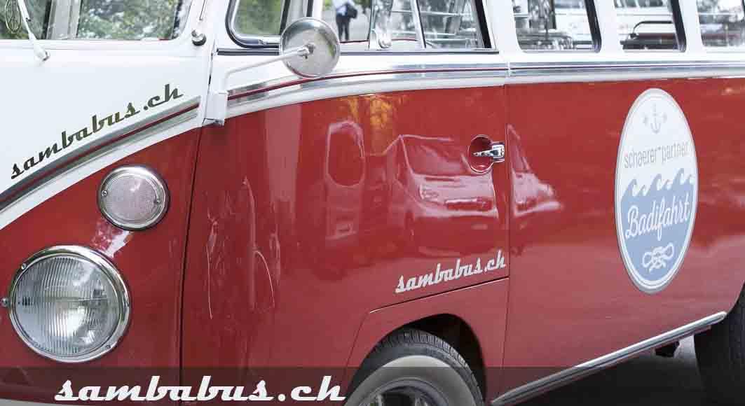Sambabus als Shuttle-.Bus